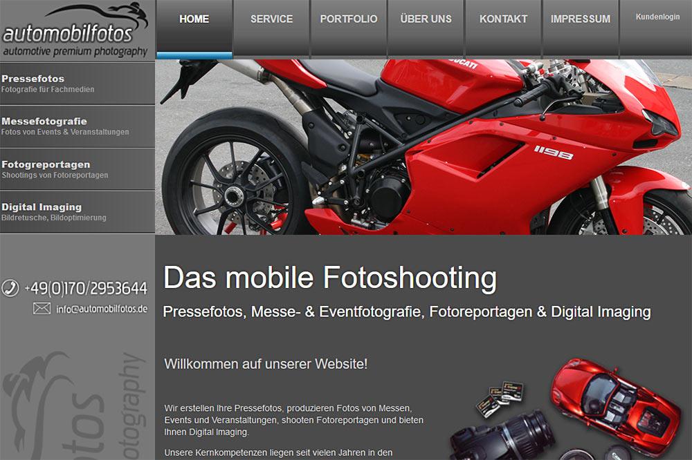 Mobile Fotoshootings