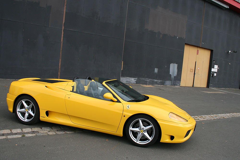 Fotos Ferrari 360 Modena Spider
