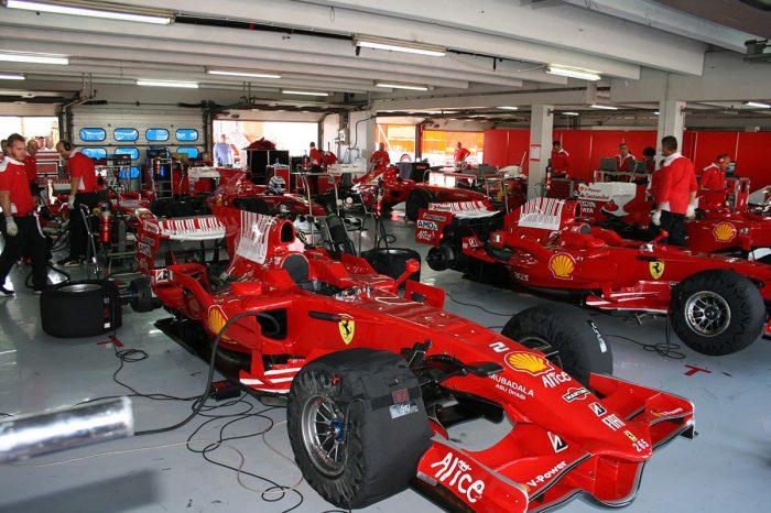 Ferrari Formel1 Rennwagen