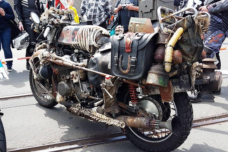 Motorradsternfahrt Kulmbach Custombike